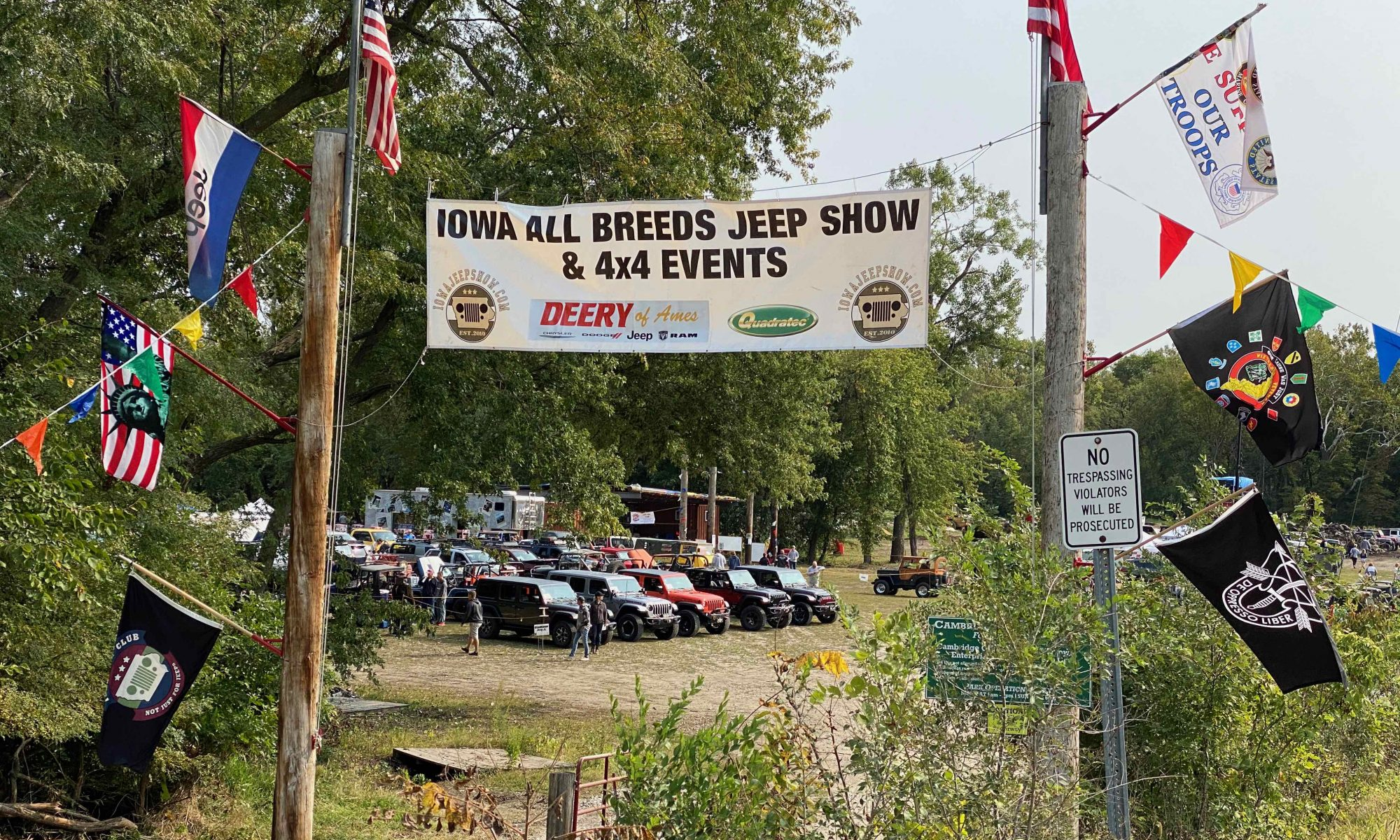 Iowa All Breeds Jeep Show